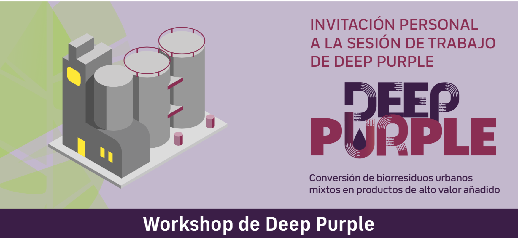 DEEP PURPLE biobased workshop ITENE